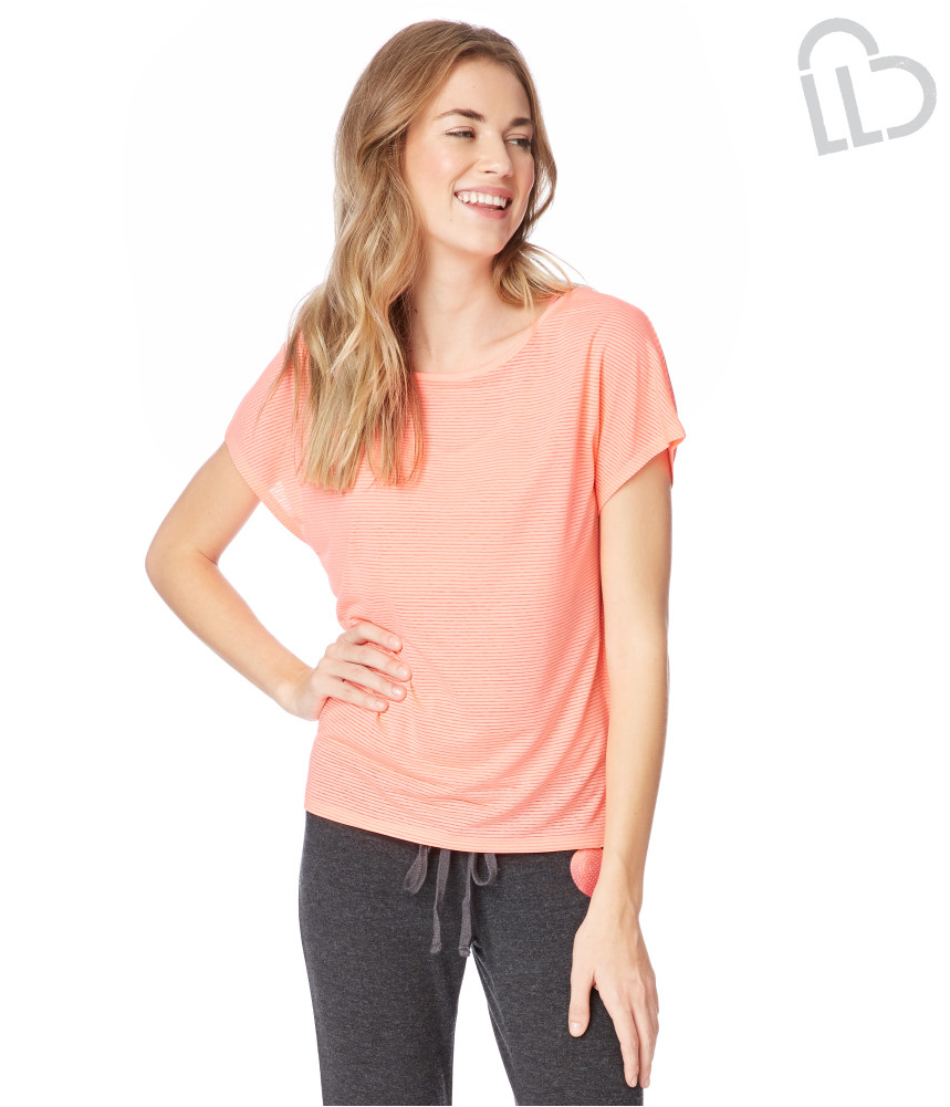 Aeropostale womens striped cocoon embellished t shirt for Women s embellished t shirts