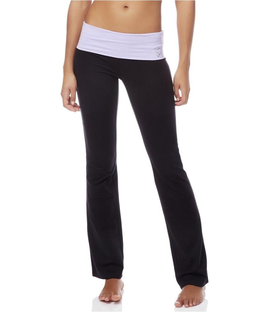 aeropostale womens bootcut yoga pants ebay