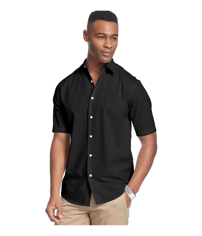 John ashford mens shadow striped button up shirt mens for Striped button up shirt mens