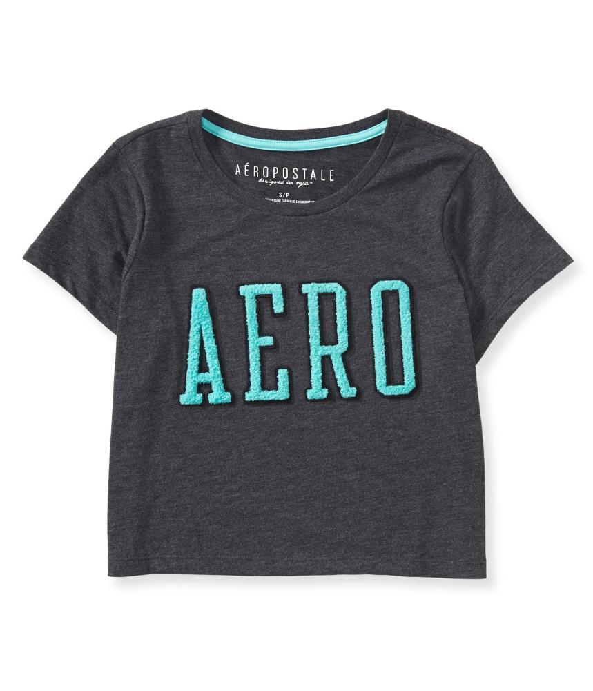 Aeropostale womens boxy embellished t shirt for Women s embellished t shirts