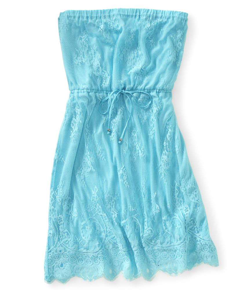 aeropostale juniors lace tube strapless dress style 1919