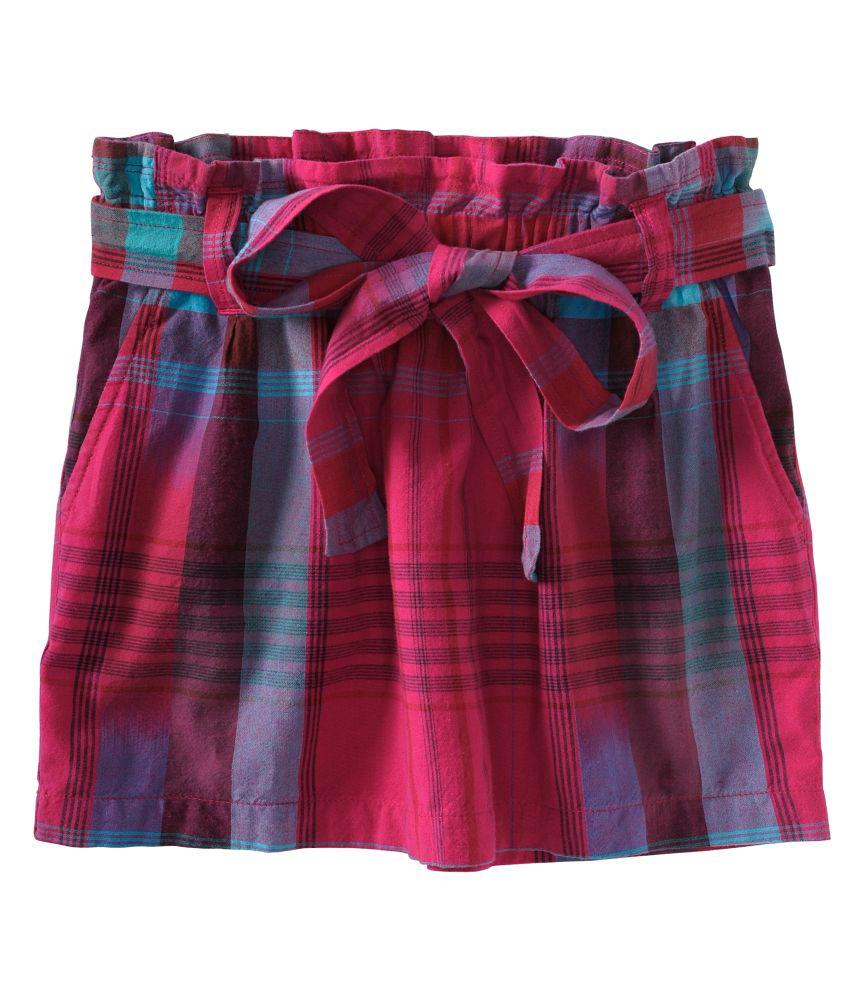 aeropostale womens plaid belted pleated skirt womens