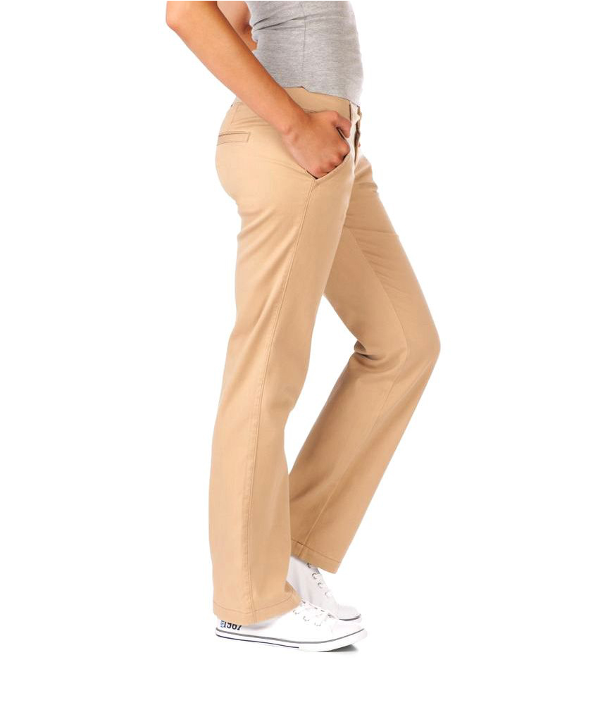 Wonderful Khaki Dress Pants Women  Pi Pants