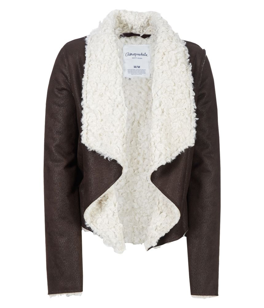 Sherpa jacket for women