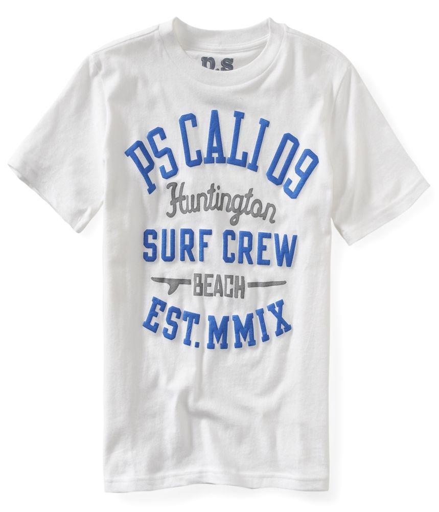 Aeropostale Boys Surf Crew Graphic T Shirt Boys Apparel