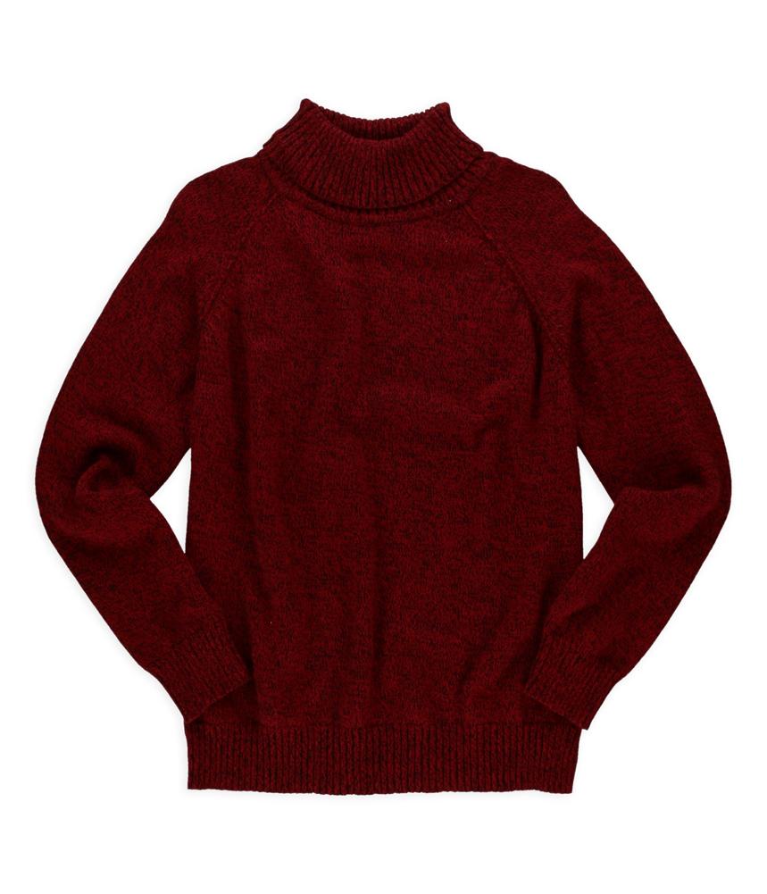 KAREN SCOTT Karen Scott Womens Marled Turtleneck Pullover Sweater