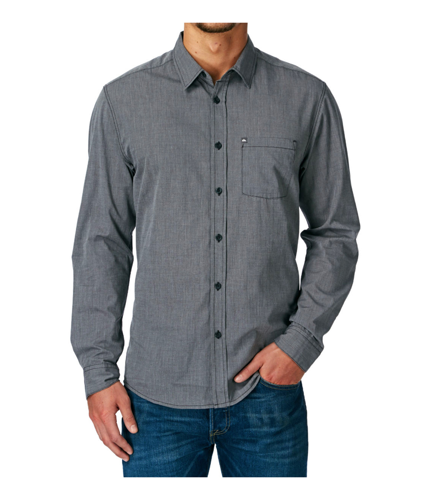 Quiksilver mens allman ss button up shirt ebay for Guys button up shirts