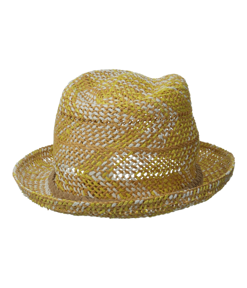 womens big swell straw fedora trilby hat