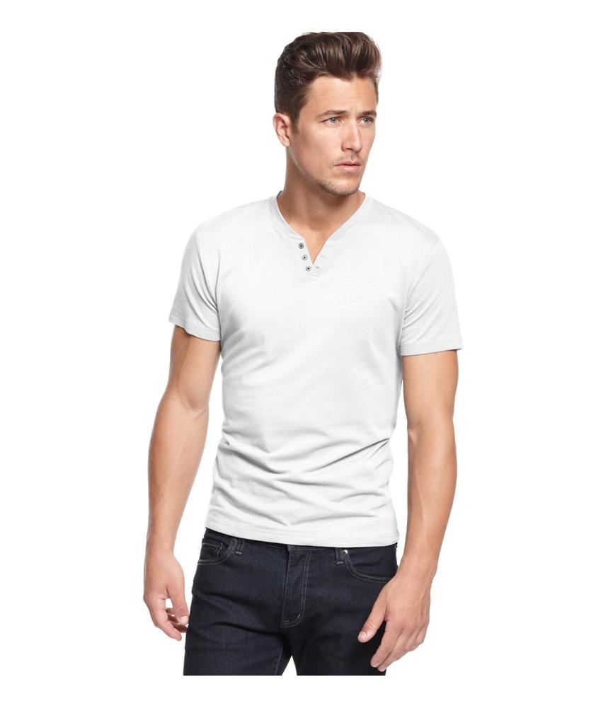 Alfani mens split neck henley shirt mens apparel free for Alfani mens shirt size chart