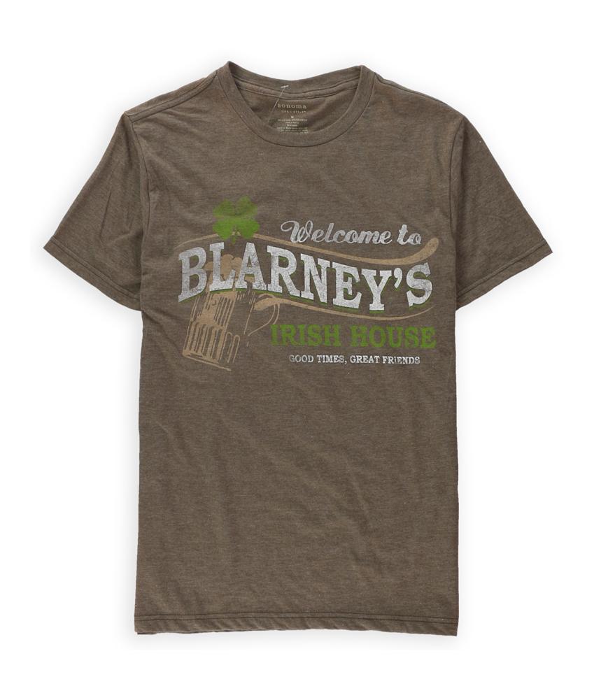 Sonoma life style mens blarney s graphic t shirt mens apparel free