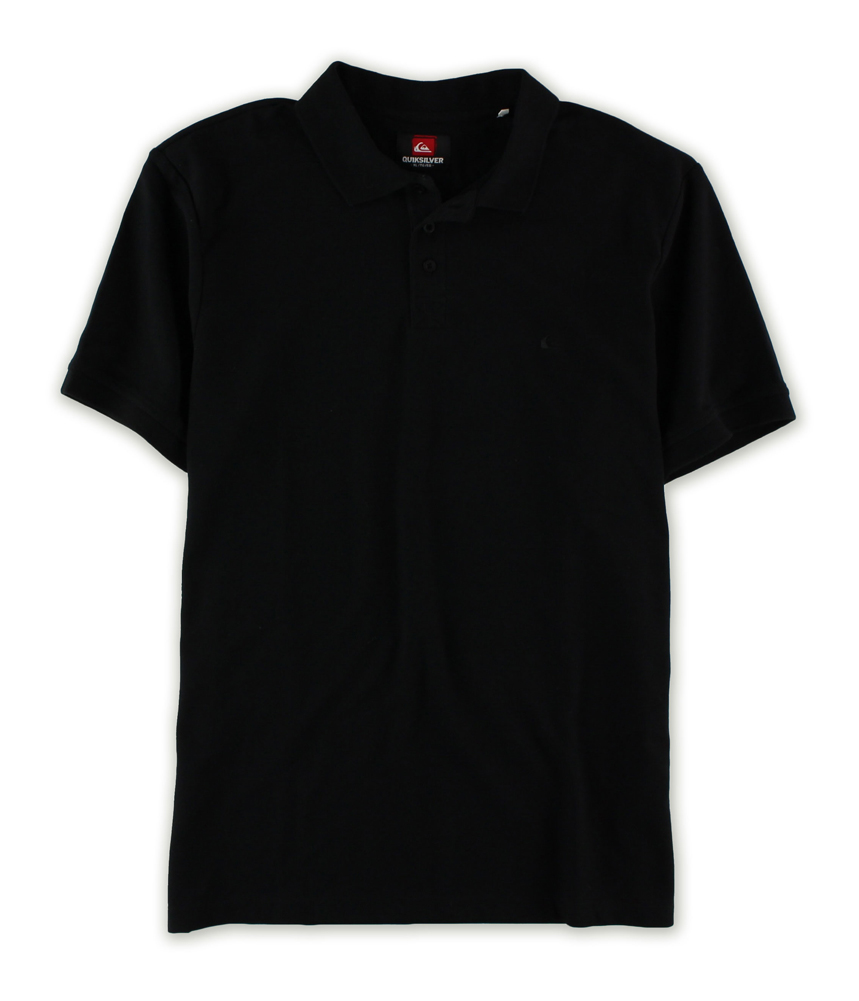 Quiksilver Quiksilver Mens Solid Ss Rugby Polo Shirt