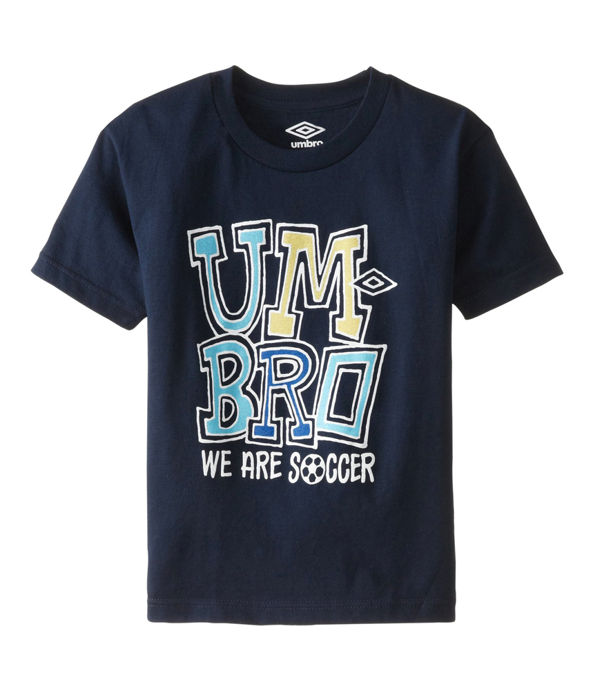 Umbro boys we are soccer graphic t shirt boys apparel for Boys soccer t shirts