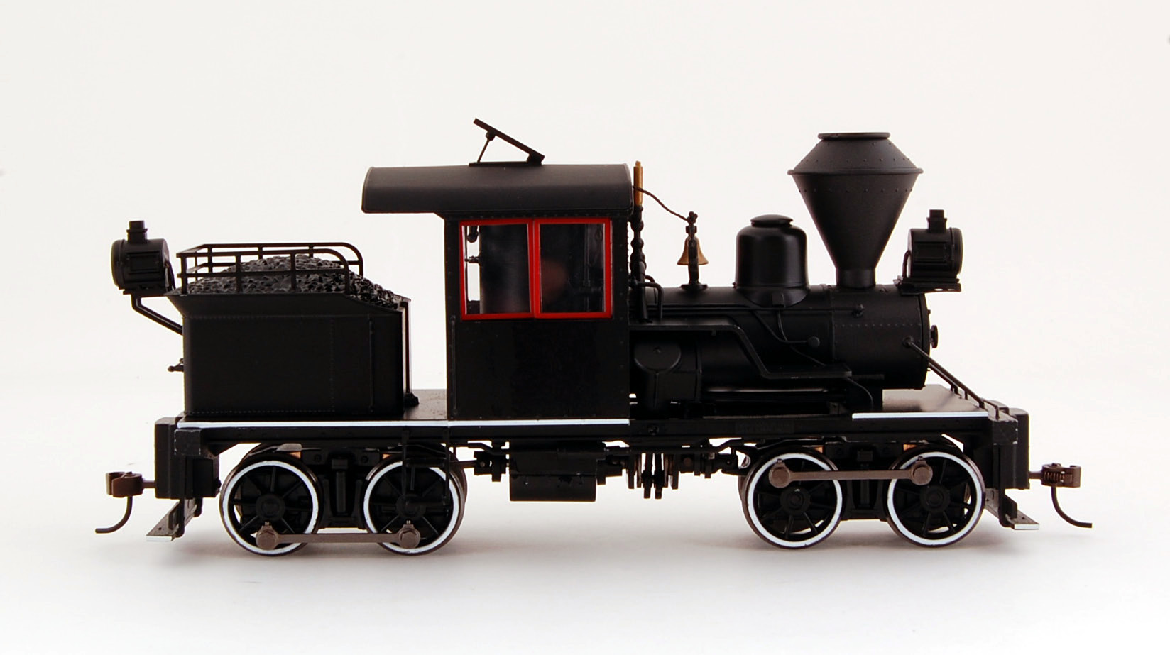 Spectrum Plus Bachmann On30 Scale Train 14 Ton Two-Truck Stearns-Heisler Steam Loco DCC Equipped Black with Red & White Trim 28804 at Sears.com