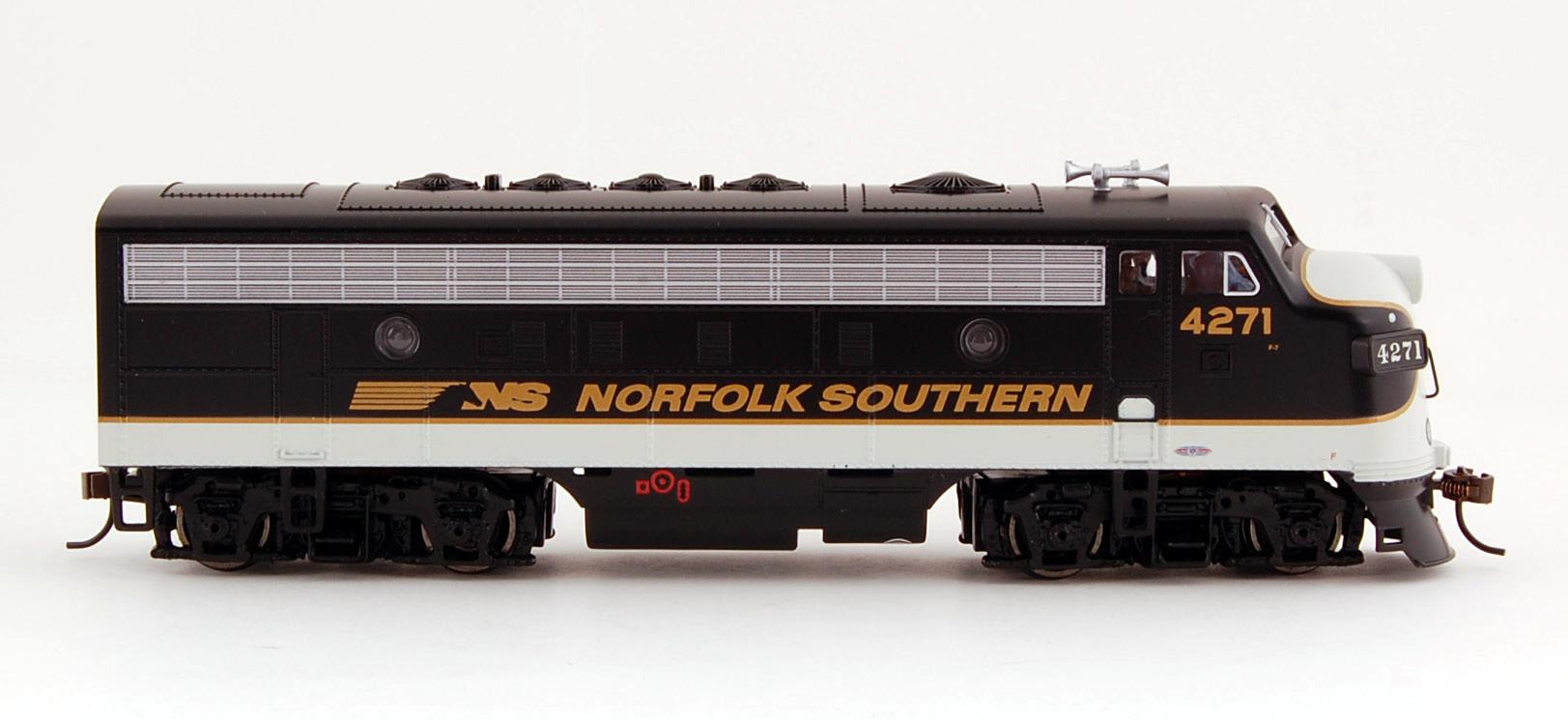 Norfolk southern ho scale train sets 60051