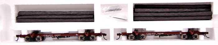 Rivarossi HO Scale Logging & Mining Car Milwaukee Road Oxide Red HR6173 at Sears.com
