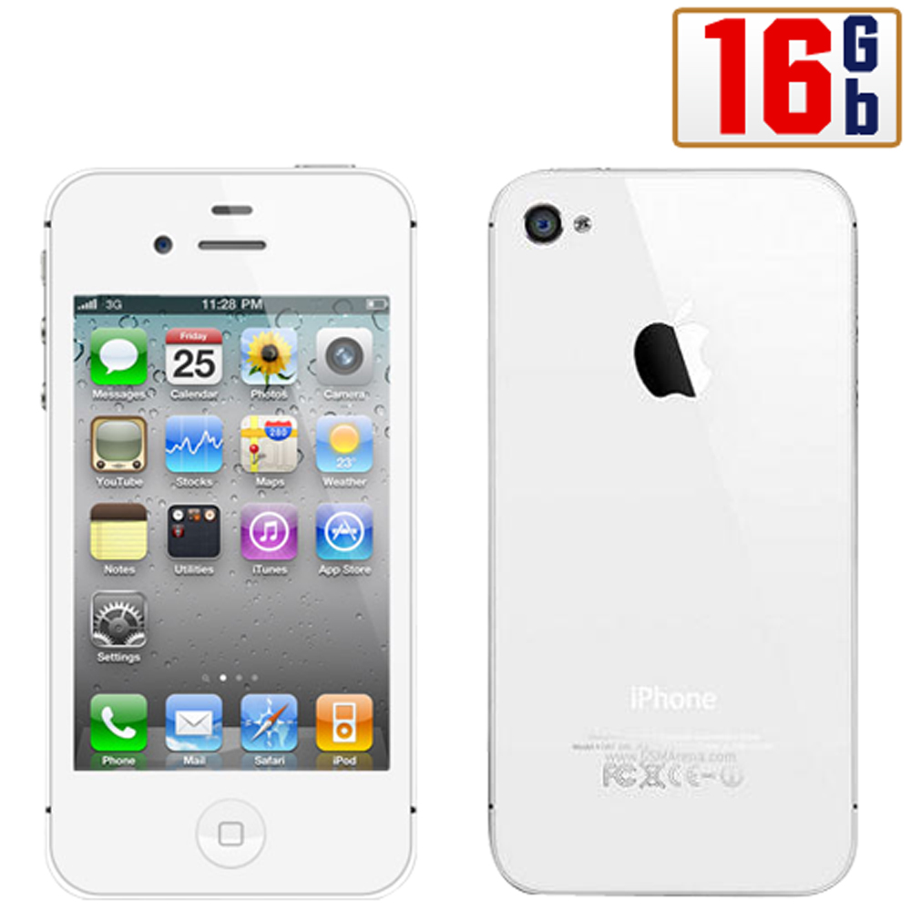 Apple iPhone 4S 16Gb White WiFi Unlocked QuadBand 3G Cell Phone at Sears.com