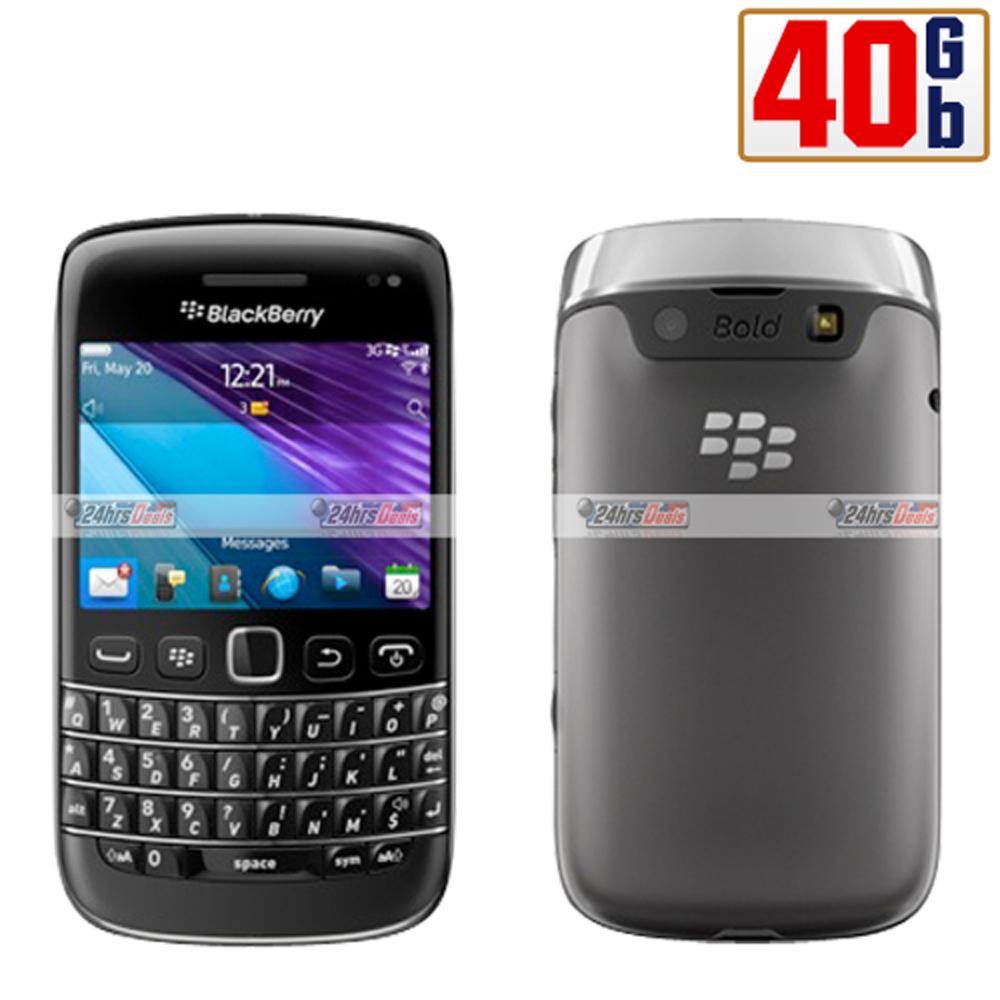 blackberry bold 9790 40gb black wifi keyboard unlocked 3g cell phone