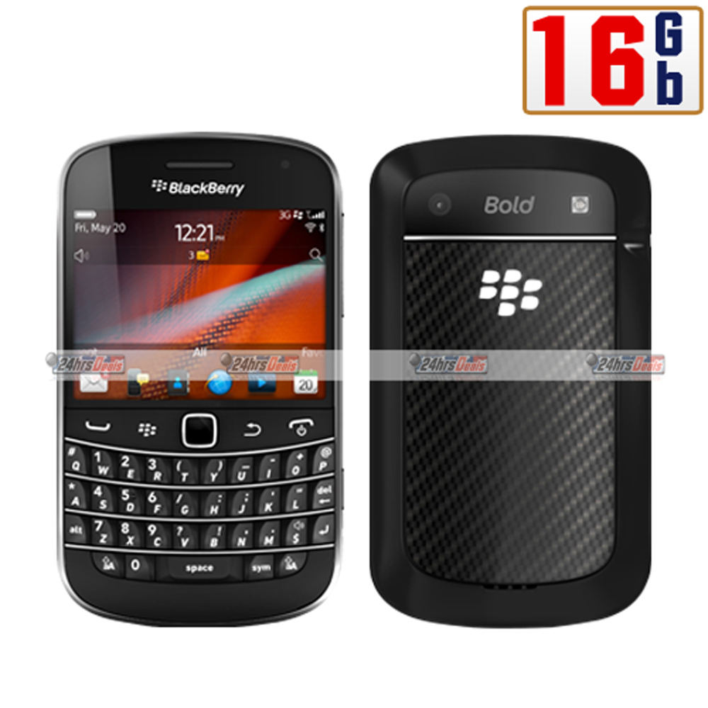 BlackBerry Bold Touch 9900 16Gb Black WiFi GSM 3G Bar Cell Phone