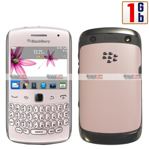 Blackberry Curve 9360 1Gb Pink WiFi Unlocked 3G Bar Cell Phone