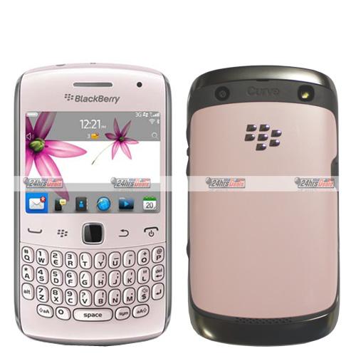 Blackberry Curve 9360 Pink WiFi GSM QuadBand 3G Bar Cell Phone