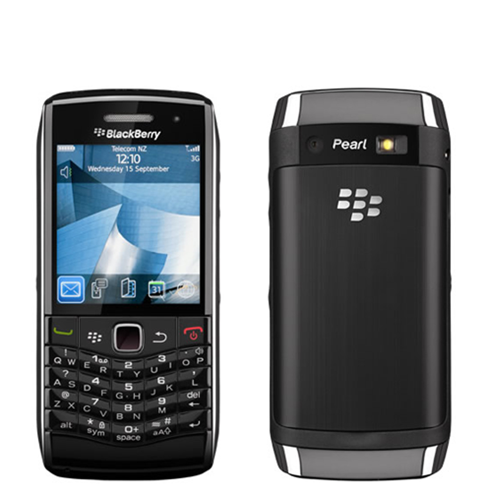 Blackberry NEW Blackberry Pearl 3G 9100 Black WiFi Unlocked 3G Bar Cell Phone at Sears.com