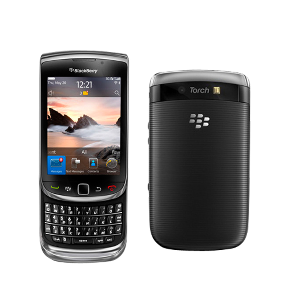 BlackBerry Torch 9800 Black WiFi Unlocked GSM QuadBand 3G Cell Phone at Sears.com