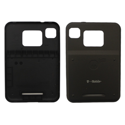 Motorola Charm Black Extended OEM Genuine Back Cover Battery Door