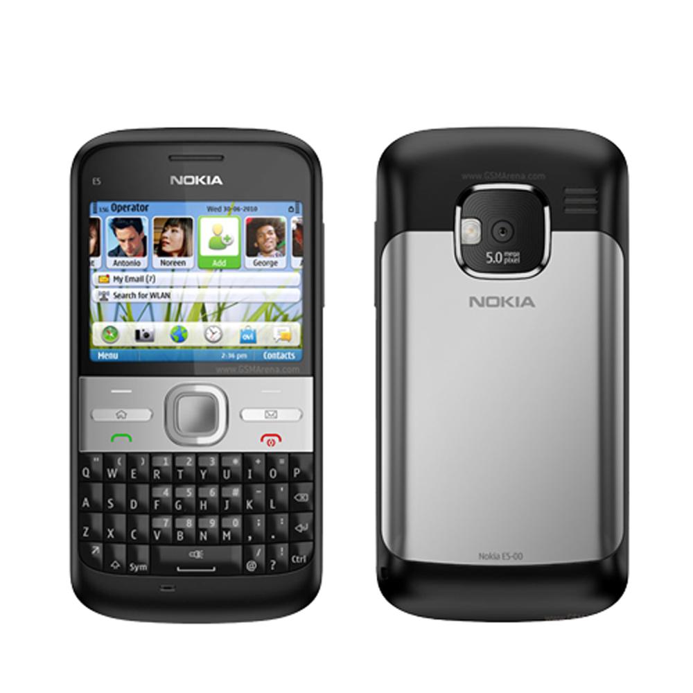 Nokia E5 Black WiFi Keyboard Unlocked QuadBand 3G At&t Bar Cell Phone at Sears.com