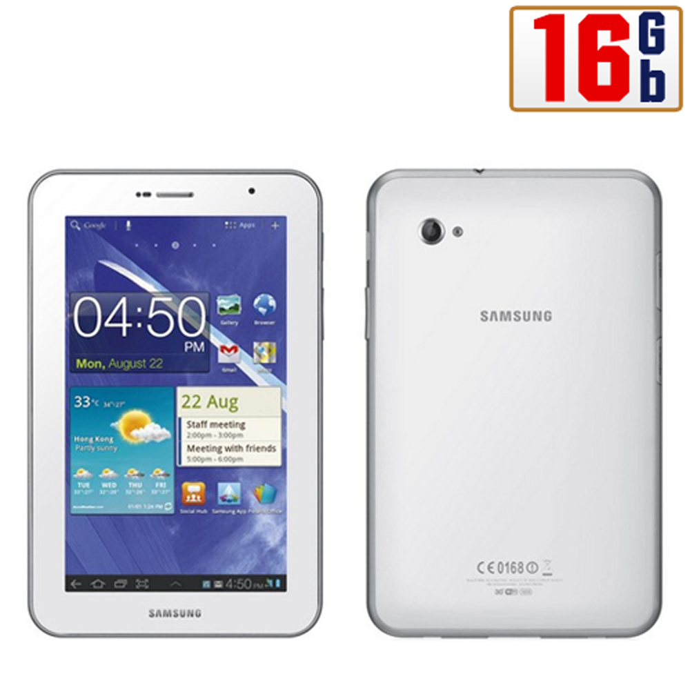 Samsung Galaxy Tablet 2 7 0 3G P3100 16GB White WiFi Android Unlocked