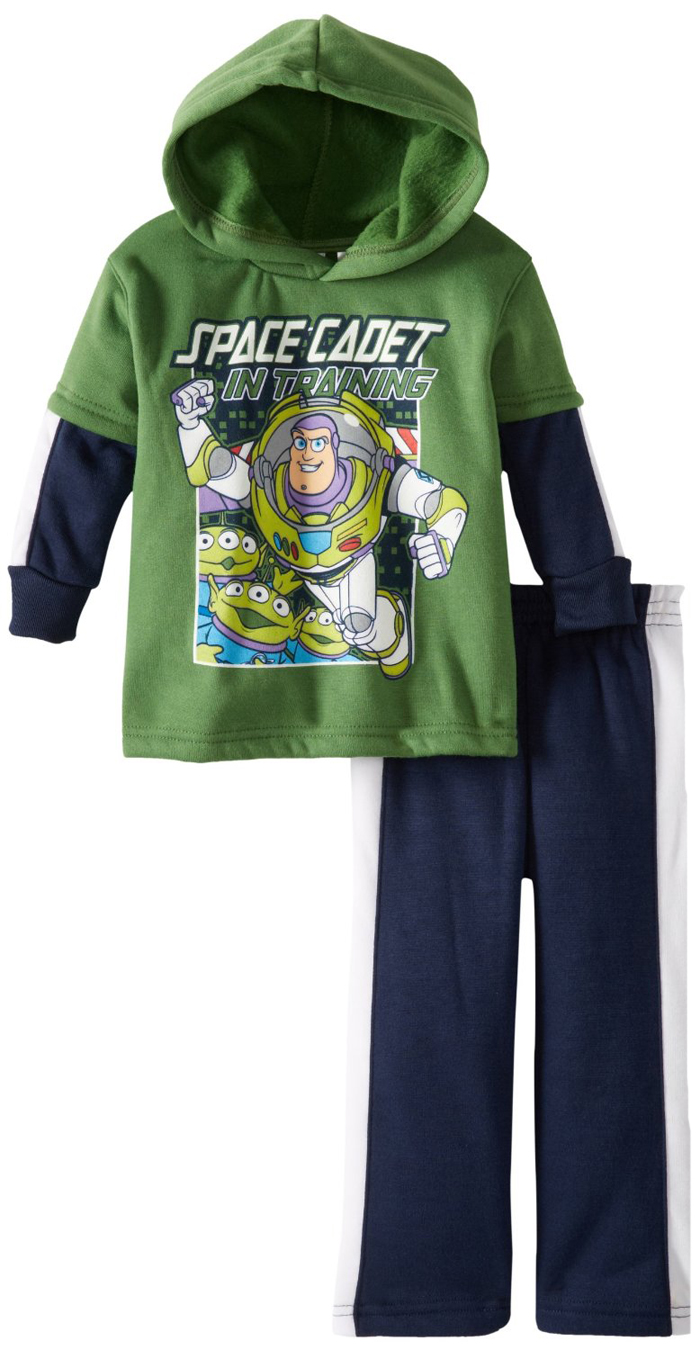 Disney Pixar Toy Story Toddler Boys 2 Piece Buzz Lightyear Hoodie Sweatpants Set at Sears.com