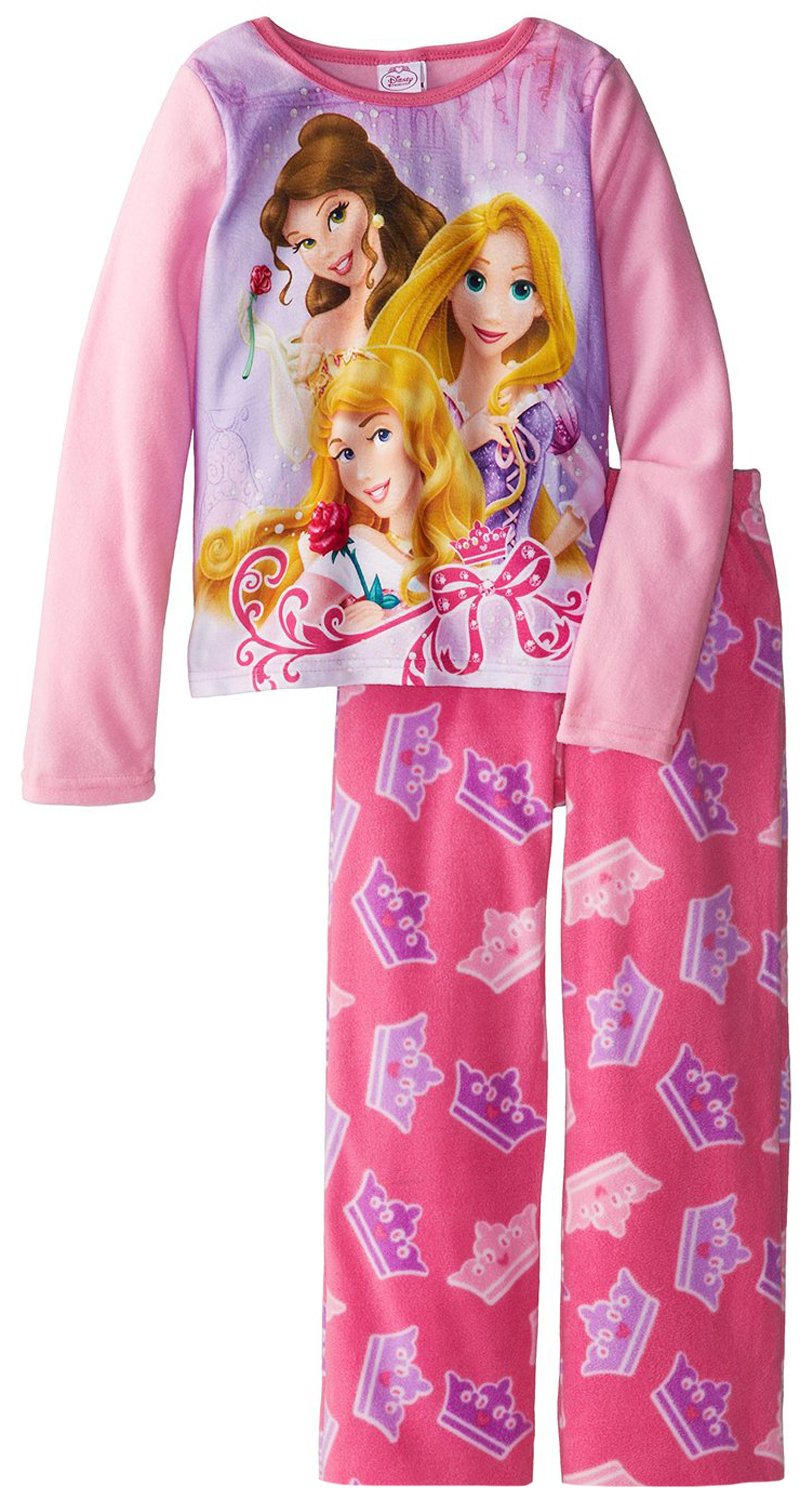 Disney Princess Little Girls' 2 Piece Polar Fleece Pajama Set at Sears.com