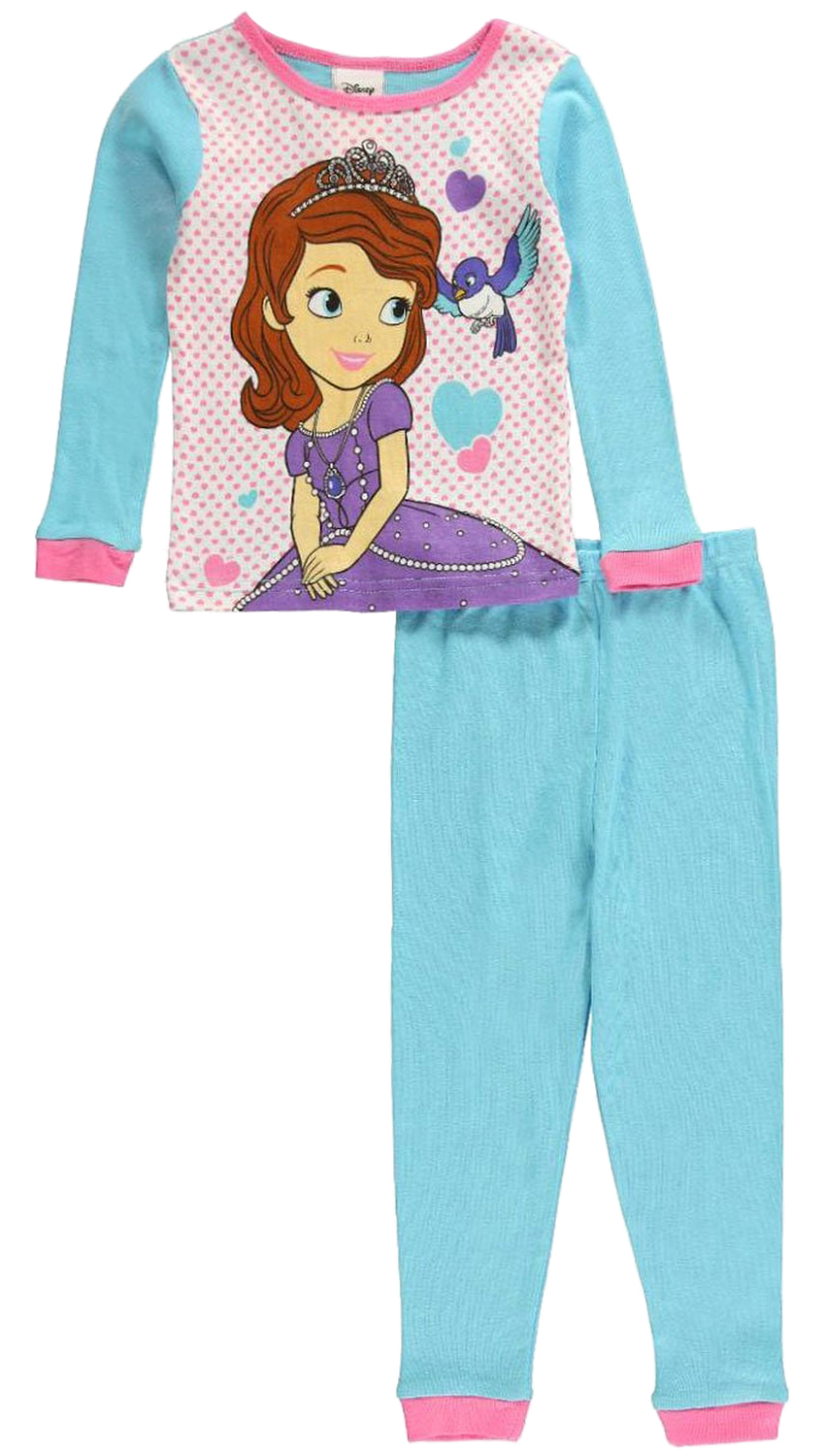 Disney Little Girls' 2 Piece Sofia the First Princess Knit Pajama Set at Sears.com