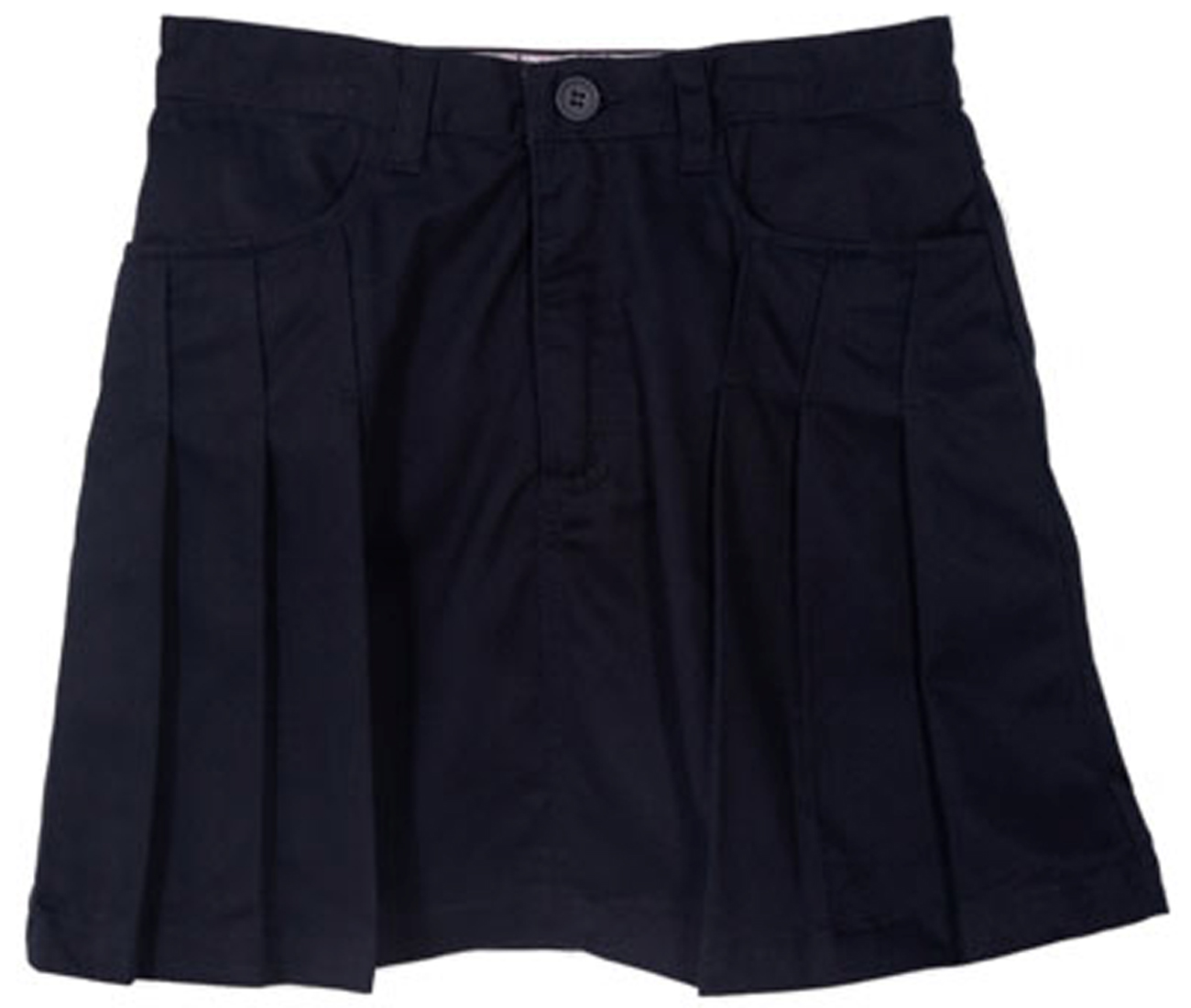 Genuine School Uniform Girls Navy Pleated Uniform Skort at Sears.com