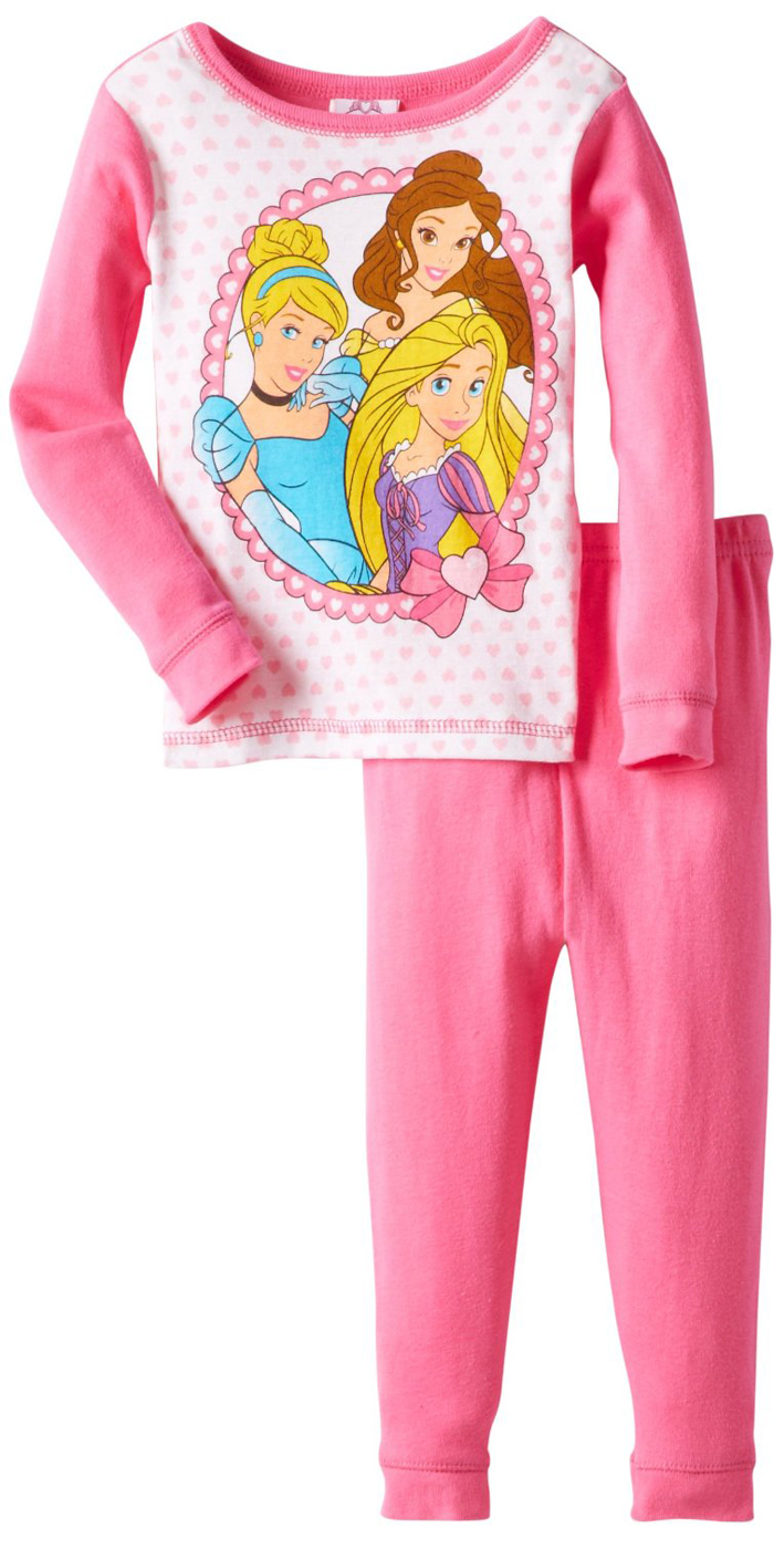 Disney Princess Baby Girls' 2 Piece Pink Pajama Top Pants Set at Sears.com