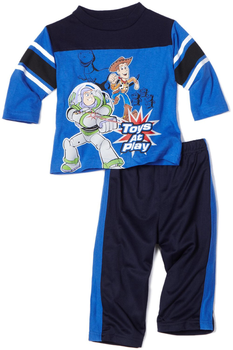 Disney Infant Boys 2 Piece Buzz Woody Toy Story Long Sleeve Shirt Tricot Pants at Sears.com