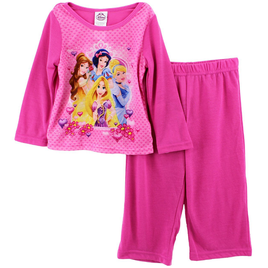Disney Princess Baby Girls' 2 Piece Pink Pajama Pants Set at Sears.com