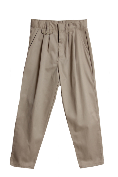 Genuine School Uniforms Girls (4-20) Pleated Uniform Pants - Khaki at Sears.com