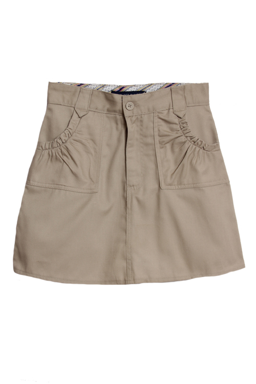 U.S. Polo Association U.S. Polo Assn. Girls (4-16) School Uniform Skort with Pockets - Khaki at Sears.com