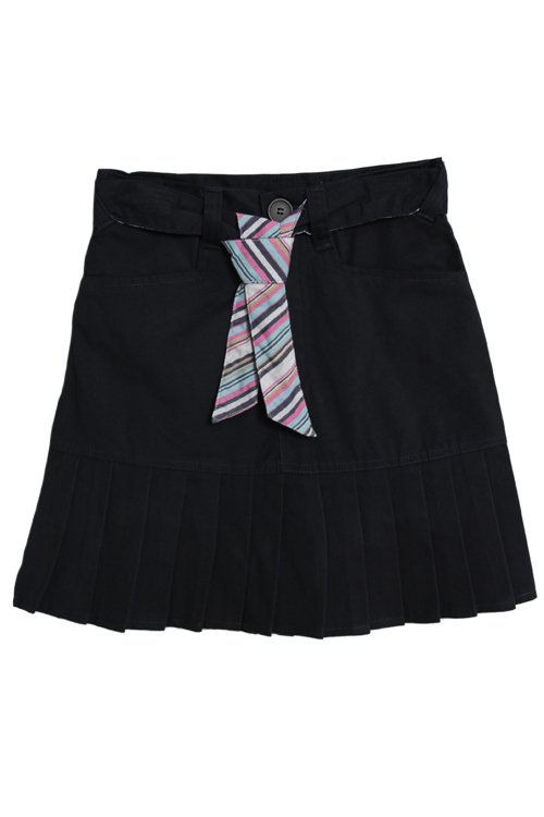 U.S. Polo Association U.S. Polo Assn. Girls (4-16) School Uniform Belted, Pleated Skort - Navy at Sears.com