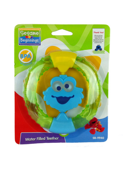 Sesame Street Beginnings Baby Infant Cookie Monster Water Teether BPA Free at Sears.com
