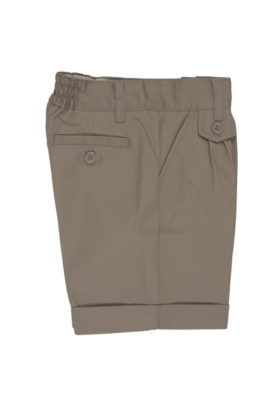 Genuine School Uniforms Girls (4-20) Pleated Uniform Shorts - Khaki at Sears.com