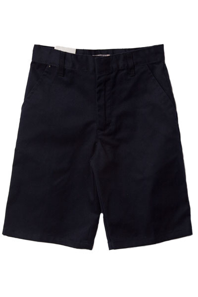 Genuine School Uniforms Boys (4-20) Flat Front Uniform Shorts - Navy at Sears.com