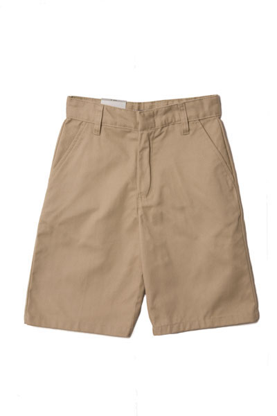 Genuine School Uniforms Boys (4-20) Flat Front Uniform Shorts - Khaki at Sears.com