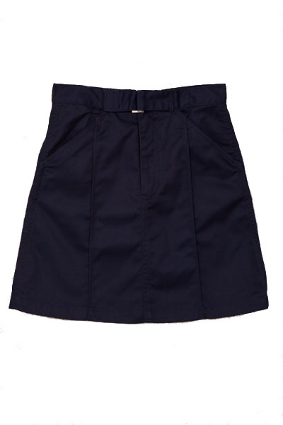 Genuine School Uniforms Girls (4-16) Uniform Skirt with Buckle - Navy at Sears.com