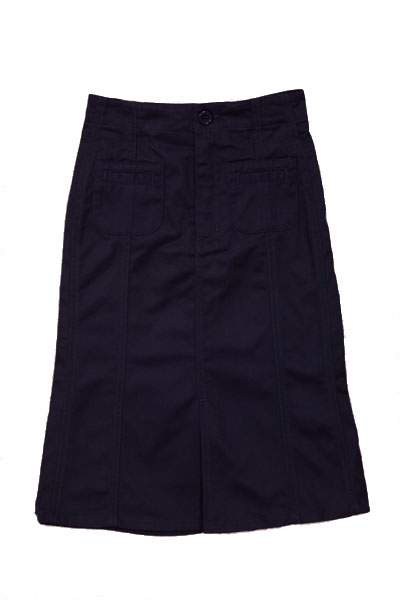 Genuine School Uniforms Girls (4-16) Long A-line Uniform Skirt - Navy at Sears.com
