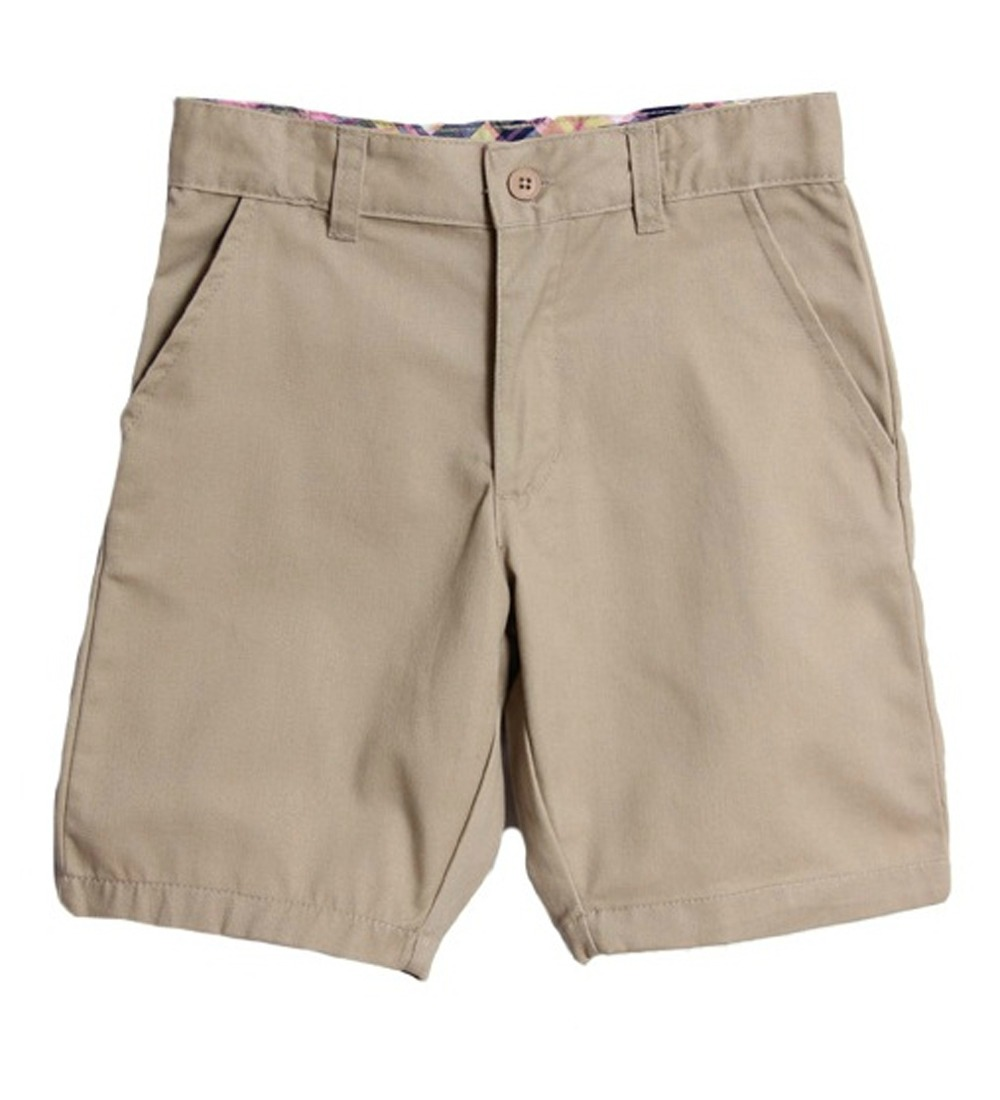 Genuine School Uniform Girls Khaki Flat Front Bermuda Shorts at Sears.com
