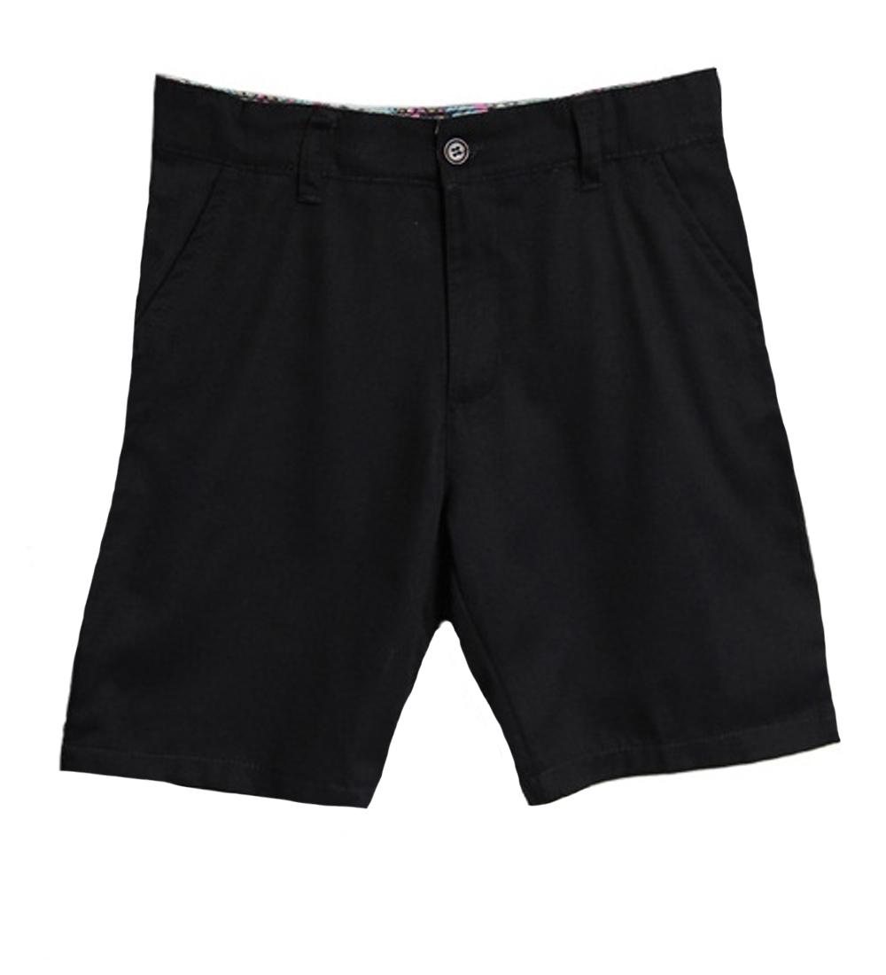 Genuine School Uniform Girls Navy Flat Front Bermuda Shorts at Sears.com