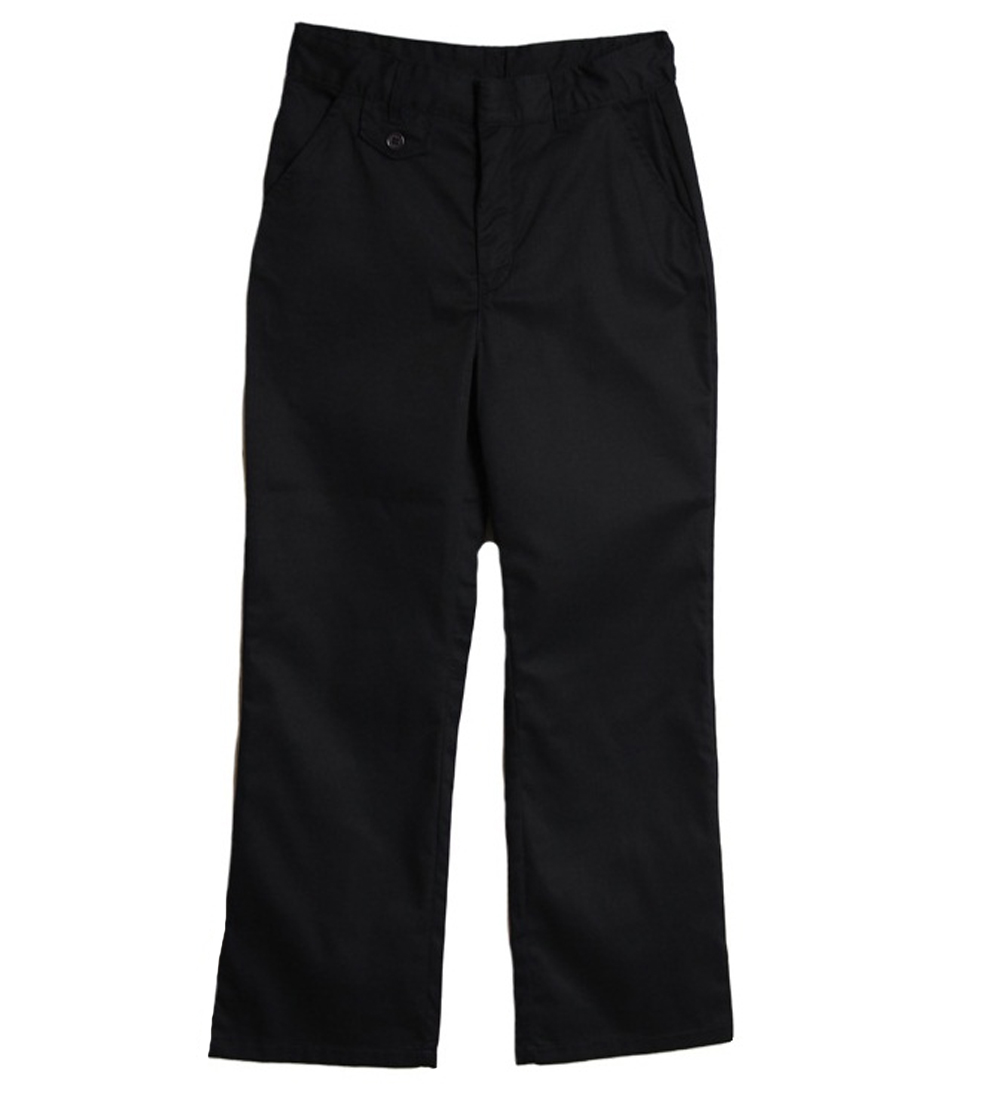 Genuine School Uniform Girls Navy Flat Front Uniform Pants at Sears.com
