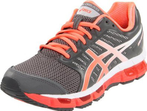 Asics Women's GEL-Cirrus33 Black/Granite/Electric Turquoise Running Shoe at Sears.com