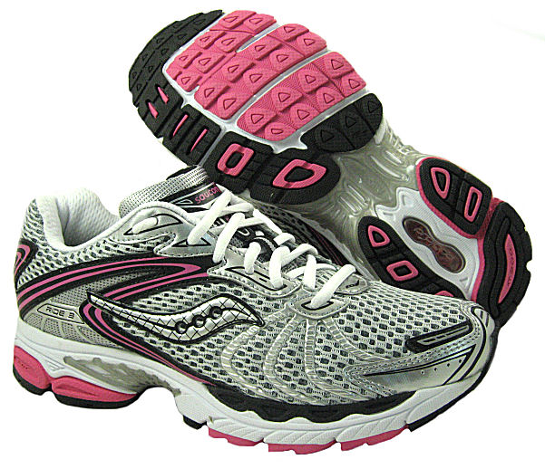 Saucony New Saucony Womens Progrid Ride 3 Silver/Blak/Pink running-shoes US NIB at Sears.com